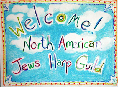 Welcome to the Jew's Harp Guild - Photo by Ingrid Berkout